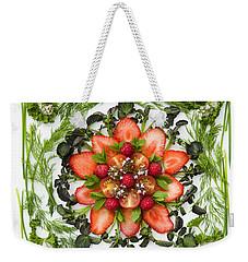Fresh Fruit Salad Weekender Tote Bag
