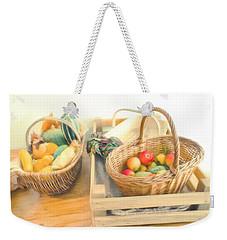 Fresh Harvest Weekender Tote Bag by Tom Gowanlock