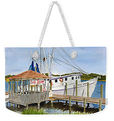 Fresh Shrimp  Weekender Tote Bag