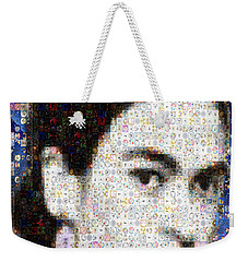 Frida Kahlo Mosaic Weekender Tote Bag