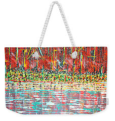 Friday At The Beach - Sold Weekender Tote Bag by George Riney