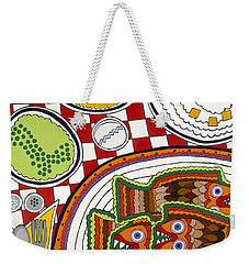 Friday Weekender Tote Bag by Rojax Art