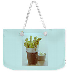 Fried Asparagus Weekender Tote Bag