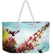 Friends Are .....  Weekender Tote Bag by Kerri Farley