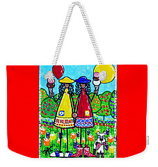 Friends Weekender Tote Bag by Jackie Carpenter
