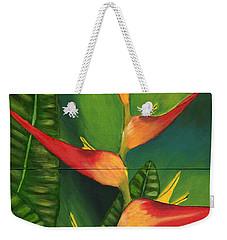 Friendship Weekender Tote Bag by Laura Forde