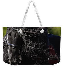 Friesian Beauty Weekender Tote Bag by Wes and Dotty Weber