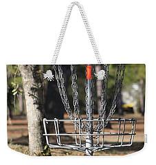Frisbee Golf Weekender Tote Bag