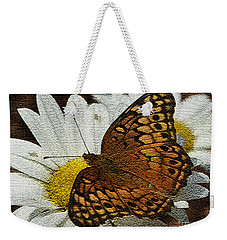Fritillary Variegated  Weekender Tote Bag by James C Thomas
