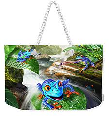 Frog Capades Weekender Tote Bag