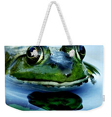 Green Frog I Only Have Eyes For You Weekender Tote Bag