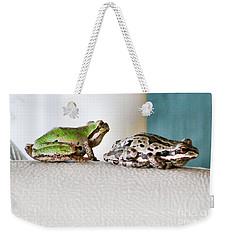 Frog Flatulence - A Case Study Weekender Tote Bag