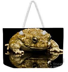 Frog Weekender Tote Bag by Gunnar Orn Arnason