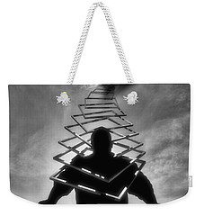 From Outer Space Weekender Tote Bag by ISAW Gallery