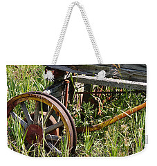 From Rust To Grass Weekender Tote Bag