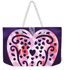 From The Beautiful Heart Of A Child Weekender Tote Bag by Connie Fox