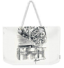 From The Breakfast Room Window Weekender Tote Bag