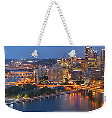 From The Fountain To Ft. Pitt Weekender Tote Bag