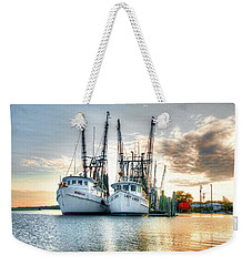 Front Of The Line Weekender Tote Bag