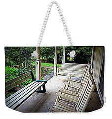 Front Porch Weekender Tote Bag