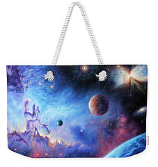 Frontiers Of The Cosmos Weekender Tote Bag