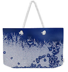 Frost Fairies Dancing Weekender Tote Bag by Stanza Widen