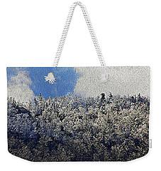 Frost Line 2 Weekender Tote Bag