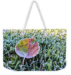 Frostbite Weekender Tote Bag