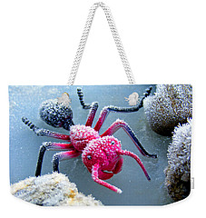 Frosty Ant In Winter Weekender Tote Bag