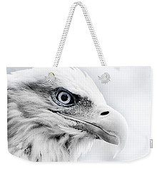 Frosty Eagle Weekender Tote Bag
