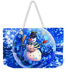 Frosty The Snowglobe Weekender Tote Bag