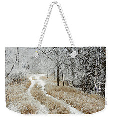 Frosty Trail Weekender Tote Bag