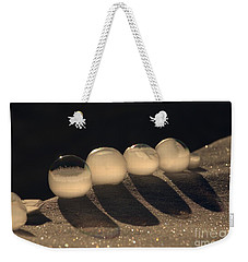Frozen Bubbles Weekender Tote Bag
