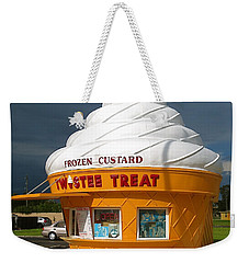 Frozen Custard Before The Storm Building Weekender Tote Bag
