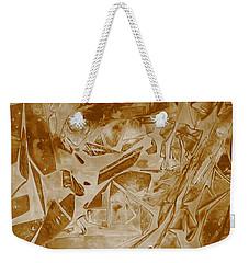Frozen Glow Weekender Tote Bag