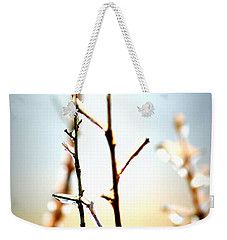 Frozen In Light Weekender Tote Bag