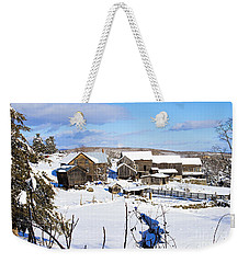Frozen In Time Two In Color Weekender Tote Bag