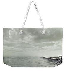 Frozen Jetty Weekender Tote Bag by Scott Norris