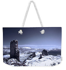 Frozen Landscape Weekender Tote Bag by Andrea Mazzocchetti