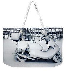 Frozen Ride Weekender Tote Bag