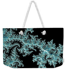 Weekender Tote Bag featuring the digital art Frozen by Susan Maxwell Schmidt