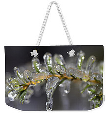 Frozen Yew Weekender Tote Bag by Eunice Gibb