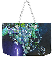 Fruit And Flowers Still Life Weekender Tote Bag