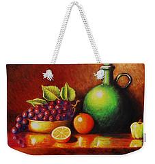 Fruit And Jug Weekender Tote Bag