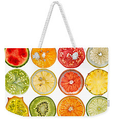 Fruit Market Weekender Tote Bag by Steve Gadomski