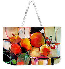 Fruit On A Dish Weekender Tote Bag