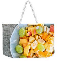 Fruit Salad Weekender Tote Bag by Tom Gowanlock