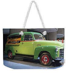 Fruit Wagon Weekender Tote Bag by Michael Peychich