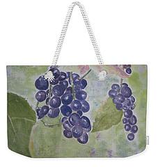 Fruits Of The Wine Weekender Tote Bag