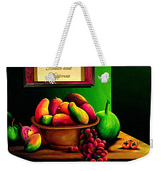 Fruits Still Life Weekender Tote Bag